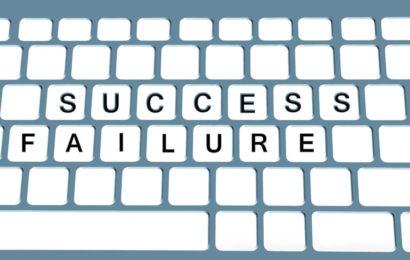Pour quoi l'échec peut nourrir un succès imminent